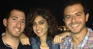Bandura Games co-founders Etay Furman, Ammoun Disi and Justin Hefter.