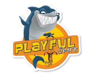 03 Playful Shark Logo_800x600