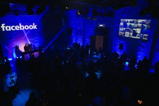 Facebook hosts over 1,000 gaming professionals at a party the first night of Casual Connect.