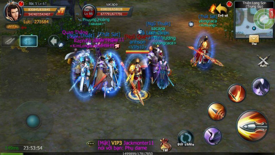 Ingame picture of game Độc Cô Cửu Kiếm Mobile