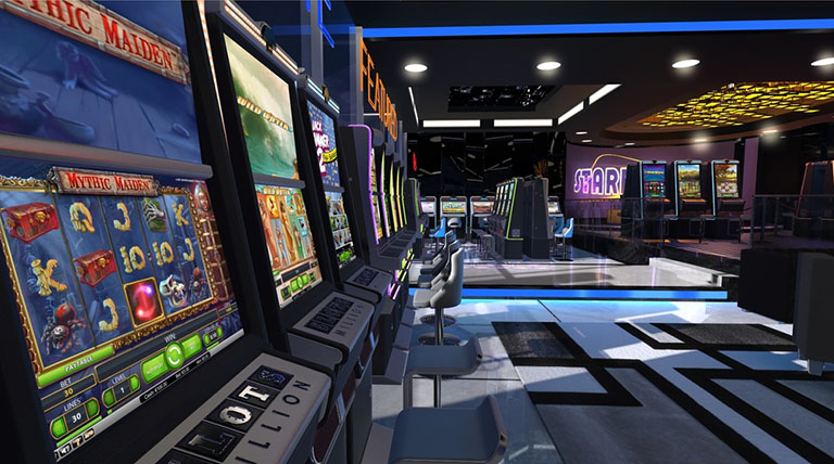 SlotsMillion online VR casino developed by Lucky VR. Credit: getluckyvr.com