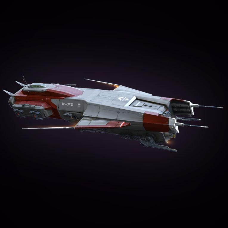 Destroyer spaceship