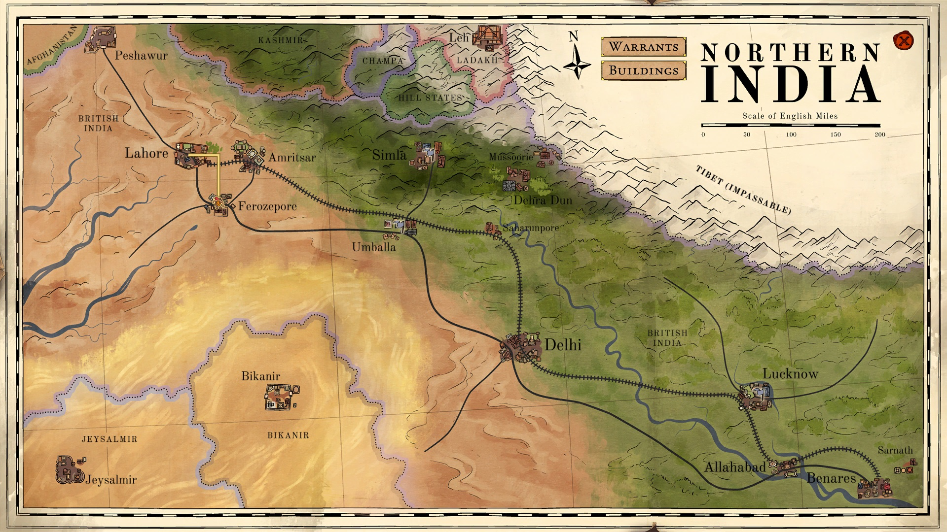 The Secret Games Company Tackles Colonial India, Procedural